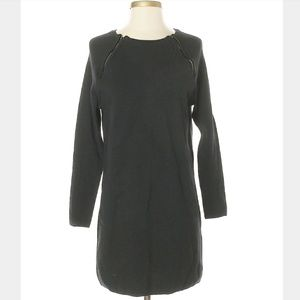 🍁Banana Republic S, Zipper Detailed Sweater Dress